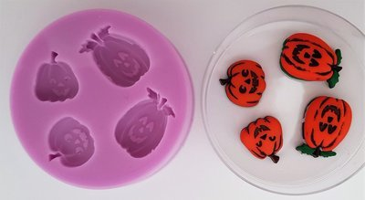 PUMPKINS SILICONE MOULD
