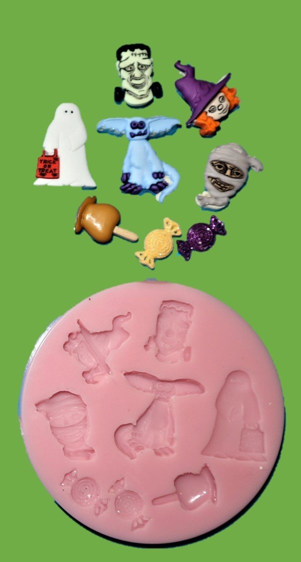 Halloween SET Silicone Mould
