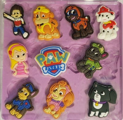 PAW PATROL SET SILICONE MOULD