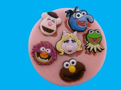 MUPPETS SET SILICONE MOULD
