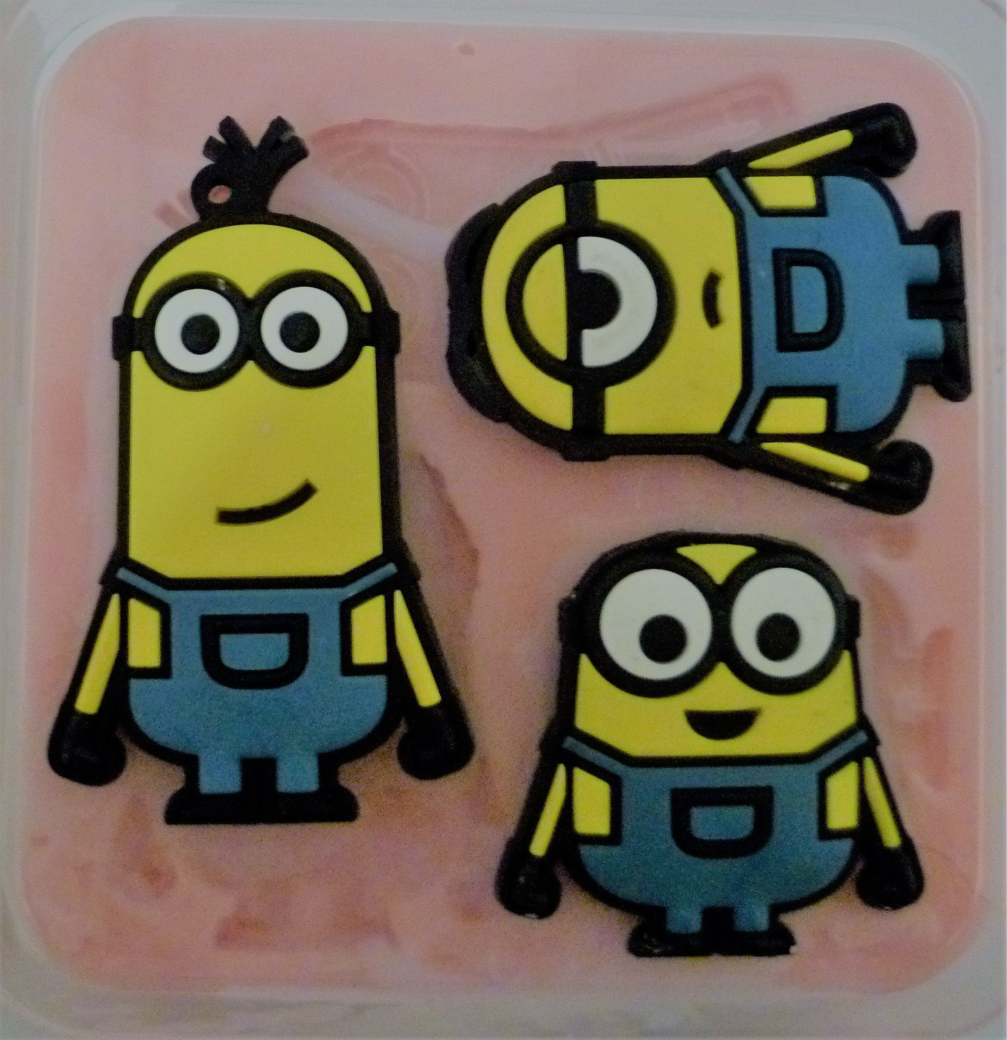 Large Minions Set silicone mould