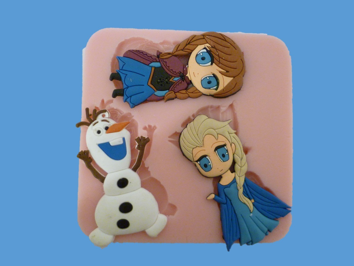 Large Frozen Character silicone mould