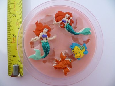 THE LITTLE MERMAID SET SILICONE MOULD