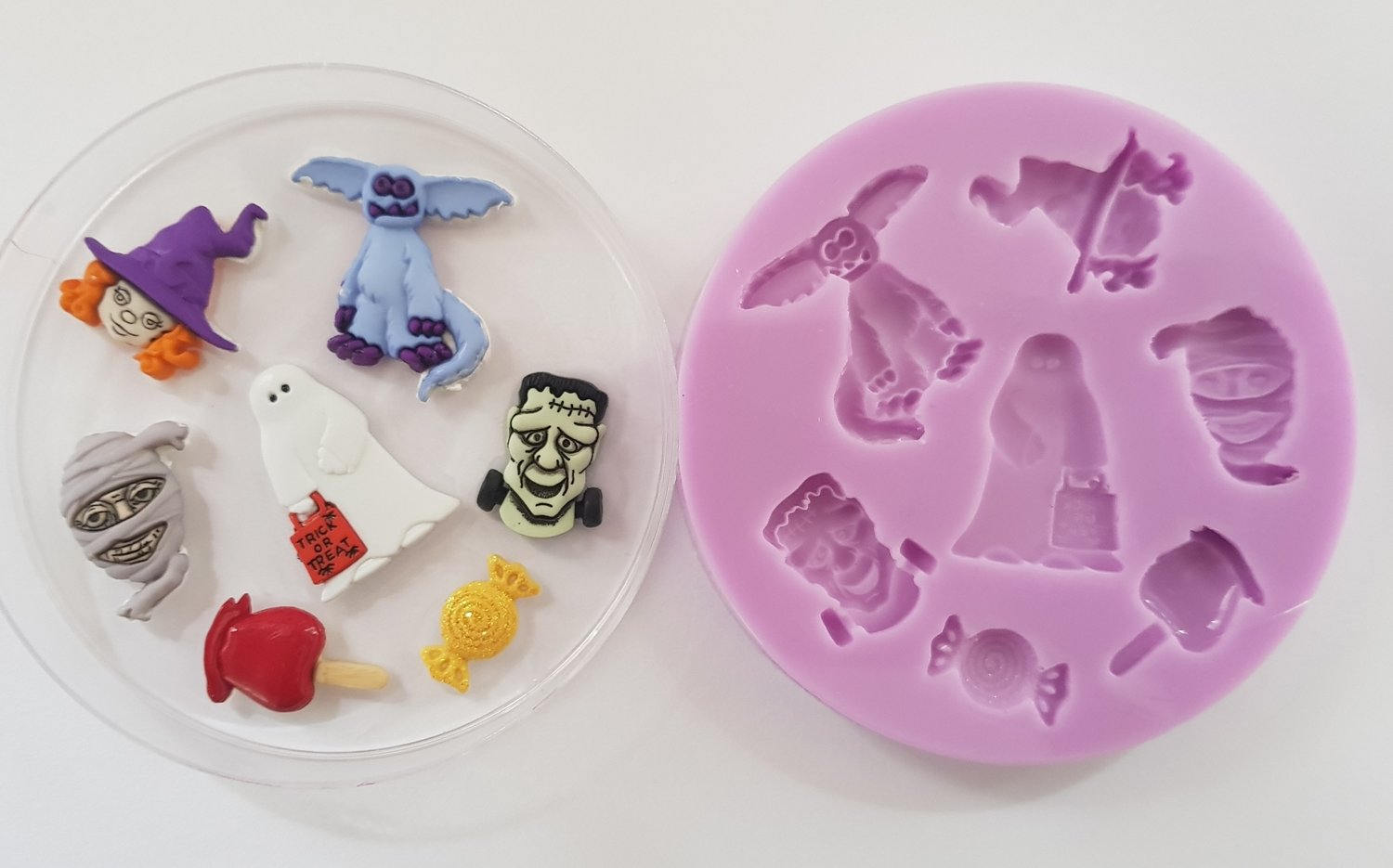 Halloween Ghouls silicone mould