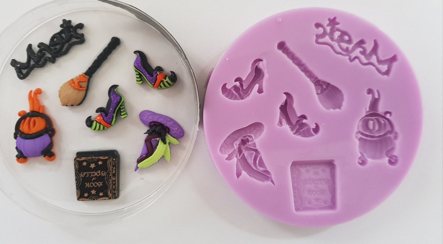 Witches Essentials 002 Halloween Silicone mould