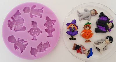 Halloween Costumes silicone mould