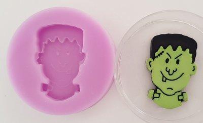 Frankenstein Halloween Silicone Mould