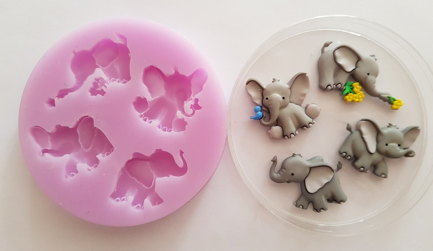 ELEPHANTS SILICONE MOULD