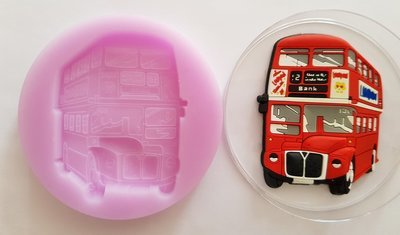 LONDON BUS SILICONE MOULD