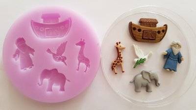 NOAHS ARK SILICONE MOULD