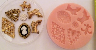 VINTAGE SET SILICONE MOULD