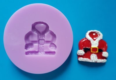 SANTAS COAT CHRISTMAS SILICONE MOULD