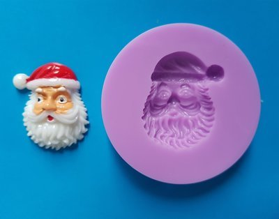 SANTAS FACE 002 CHRISTMAS SILICONE MOULD