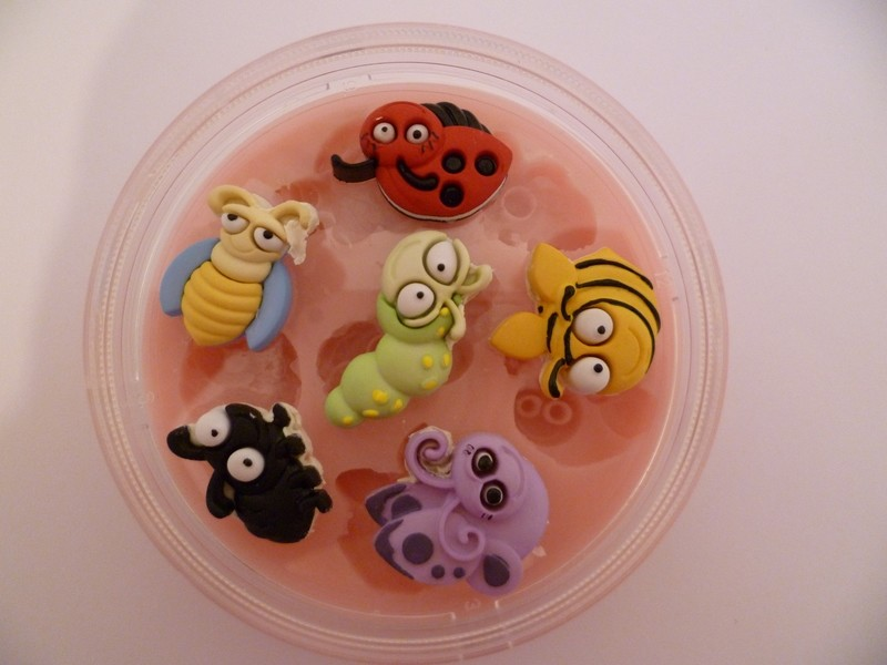 BUGS SILICONE MOULD