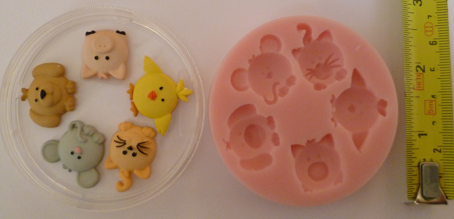 ANIMAL SET SILICONE MOULD