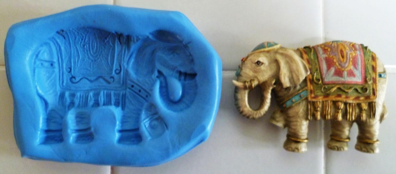 INDIAN ELEPHANT SILICONE MOULD