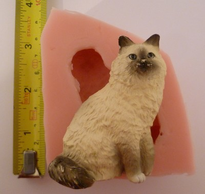 BURMESE / PERSIAN CAT SILICONE MOULD