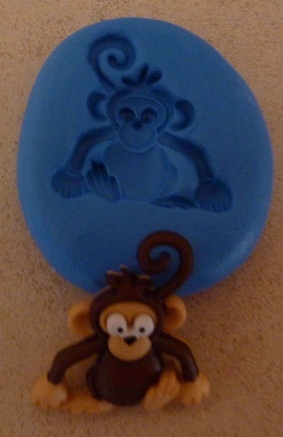 NEW MONKEY SILICONE MOULD