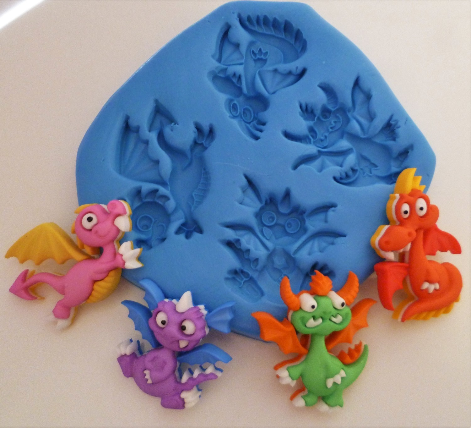 DRAGONS SILICONE MOULD