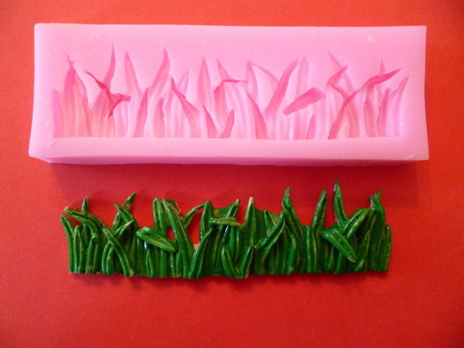 GRASS BORDER SILICONE MOULD
