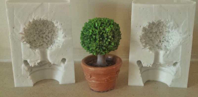 3D TOPIARY TREE SILICONE MOULD