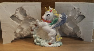 3D UNICORN SILICONE MOULD