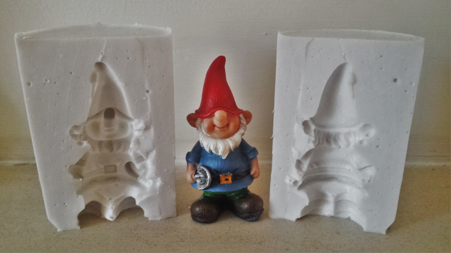 3D GNOME SILICONE MOULD