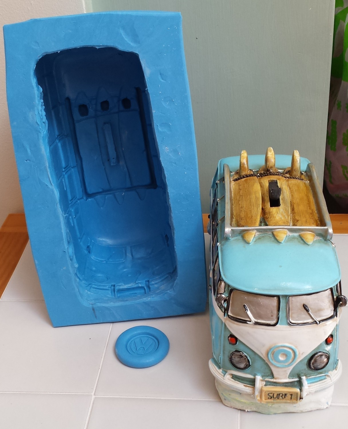 EXTRA LARGE VW CAMPERVAN 3D SILICONE MOULD