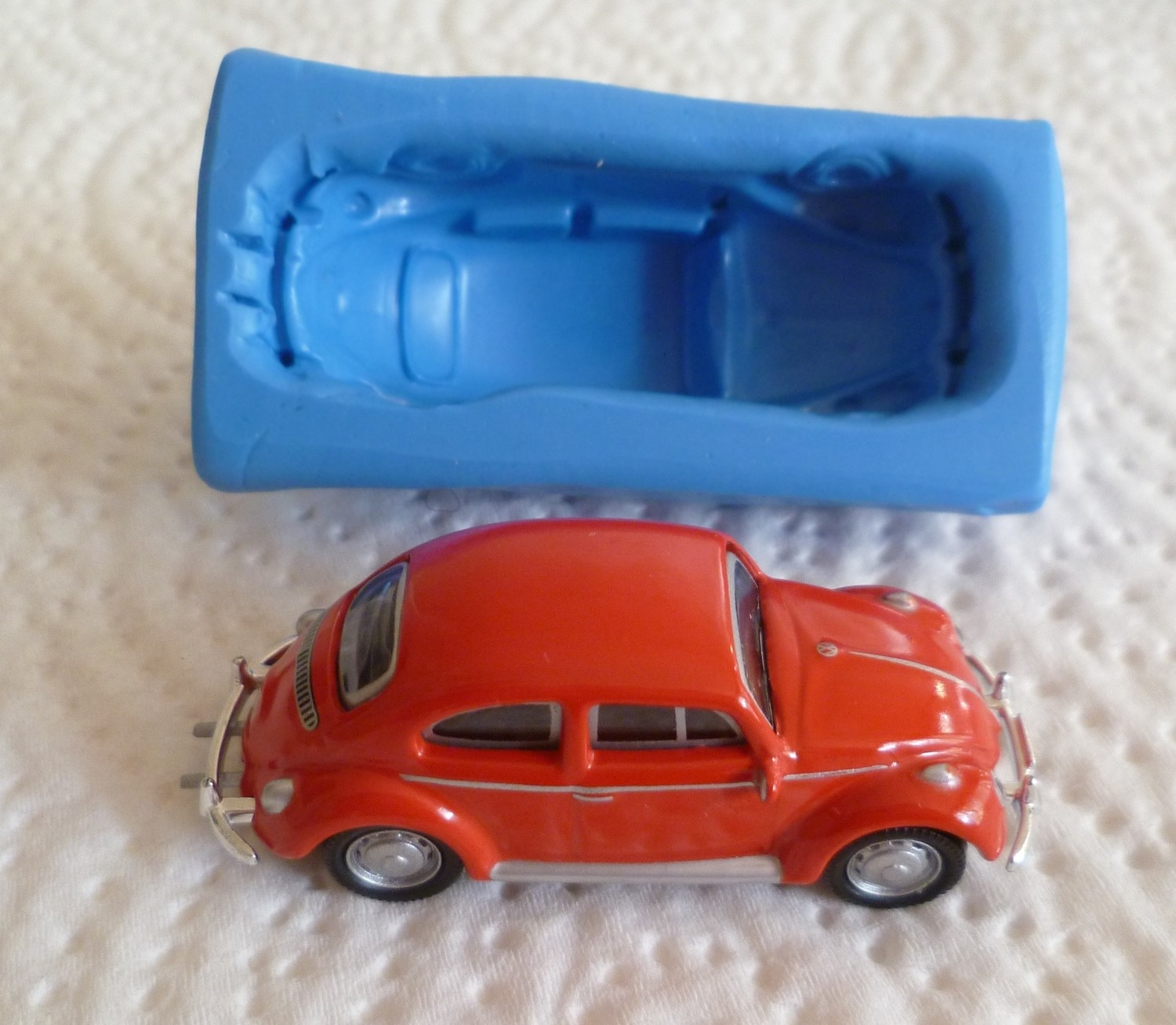 SMALL VW BEETLE 3D SILICONE MOULD