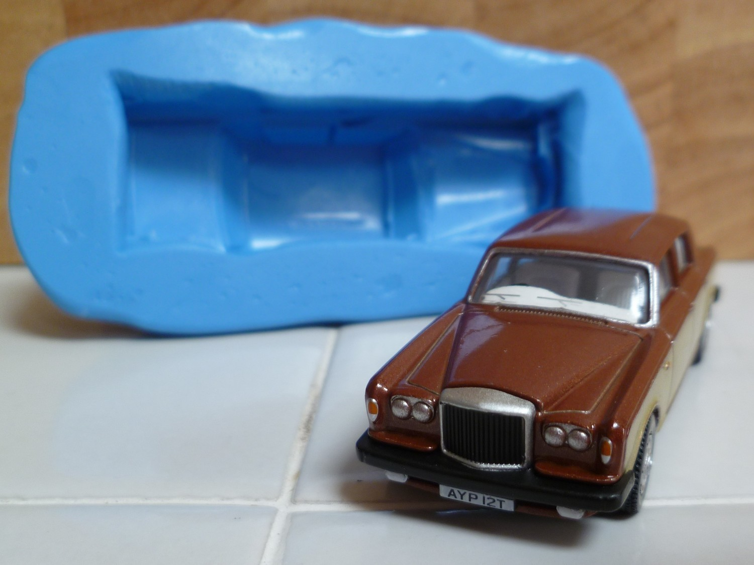3D BENTLEY T2 SALOON CAR SILICONE MOULD