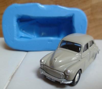 3D MORRIS MINOR 4 DOOR SALOON CAR SILICONE MOULD