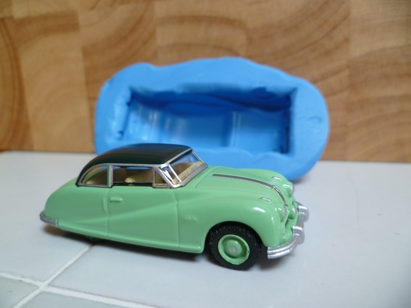 3D CLASSIC CAR AUSTIN ATLANTIC SALOON SILICONE MOULD