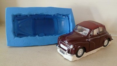 3D LARGE MORRIS MINOR SILICONE MOULD