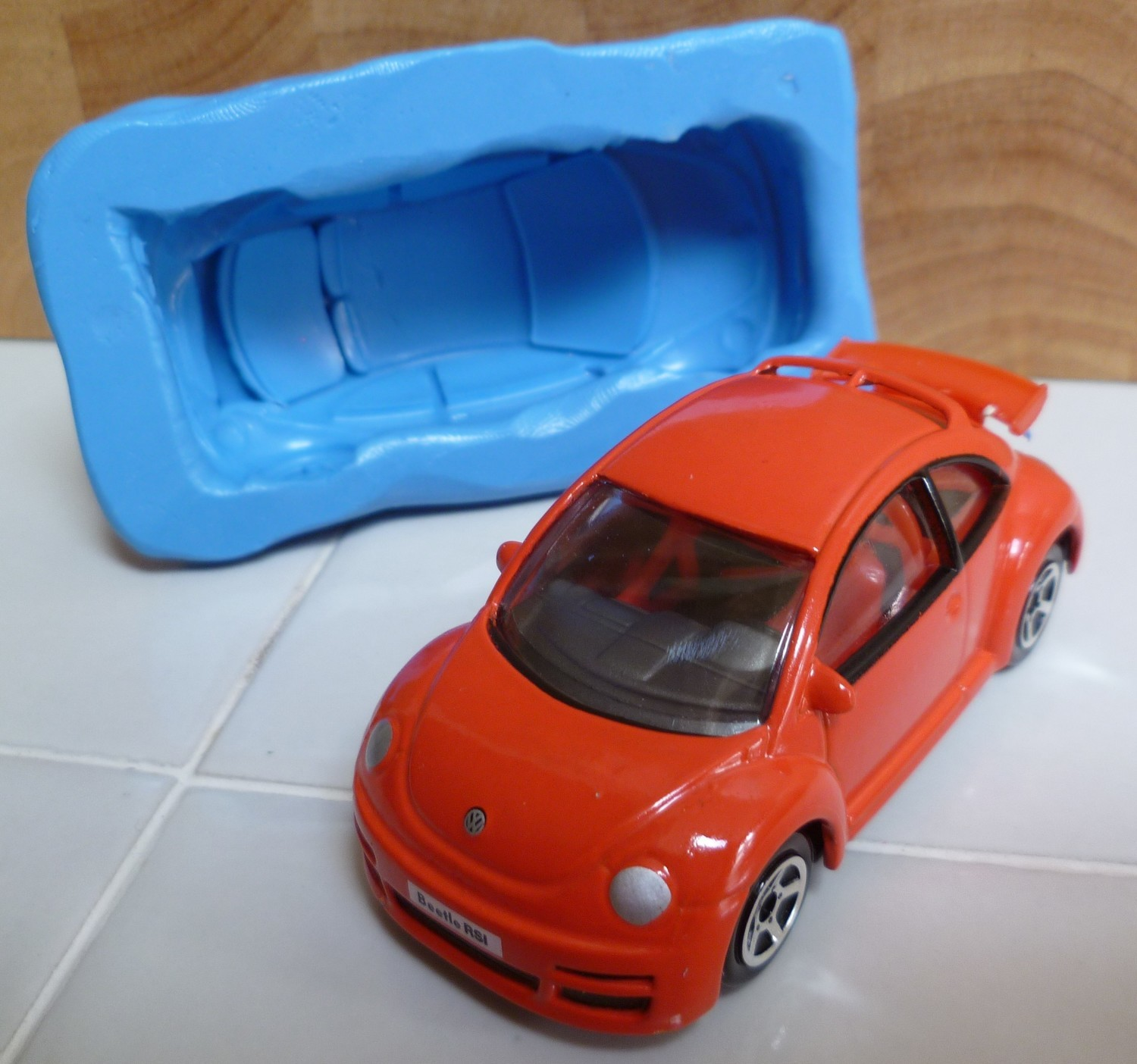 NEW BEETLE CAR SILICONE MOULD