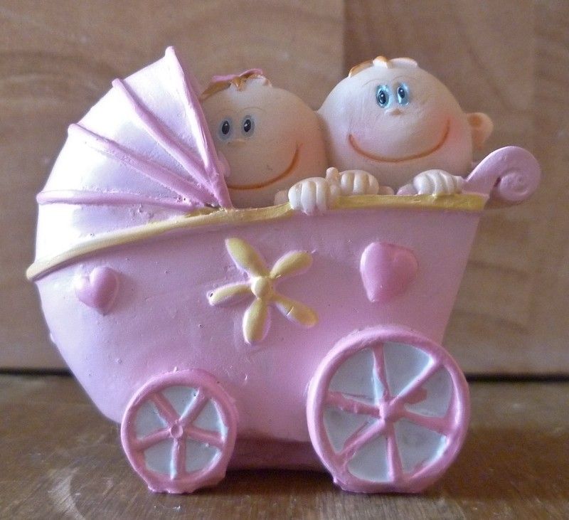 3D BABIES IN PRAM SILICONE MOULD
