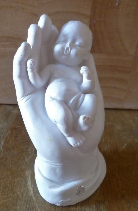 3D BABY IN HAND SILICONE MOULD