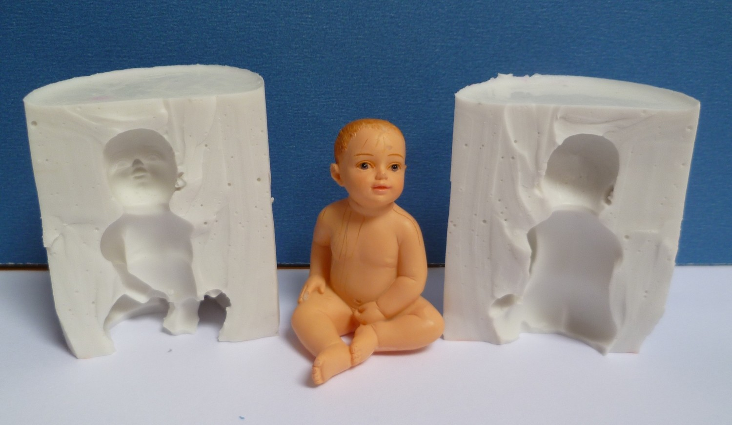 3D BABY SILICONE MOULD