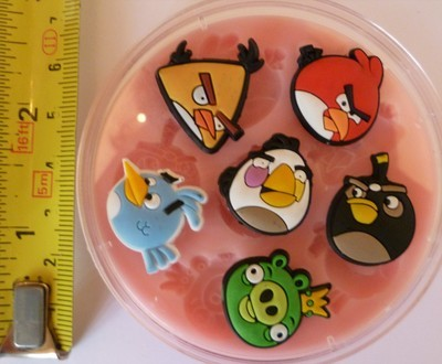 ANGRY BIRDS SET SILICONE MOULD