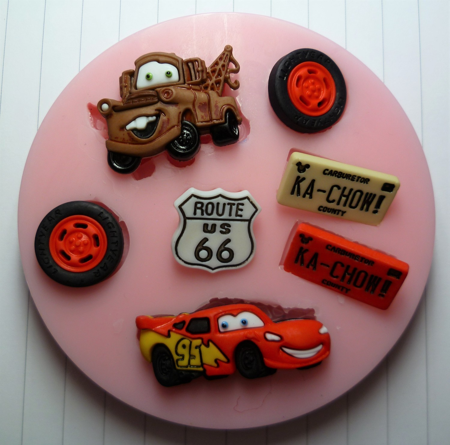 CARS SILICONE MOULD