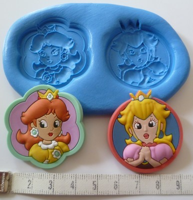 SUPER MARIO PRINCESSES SILICONE MOULD