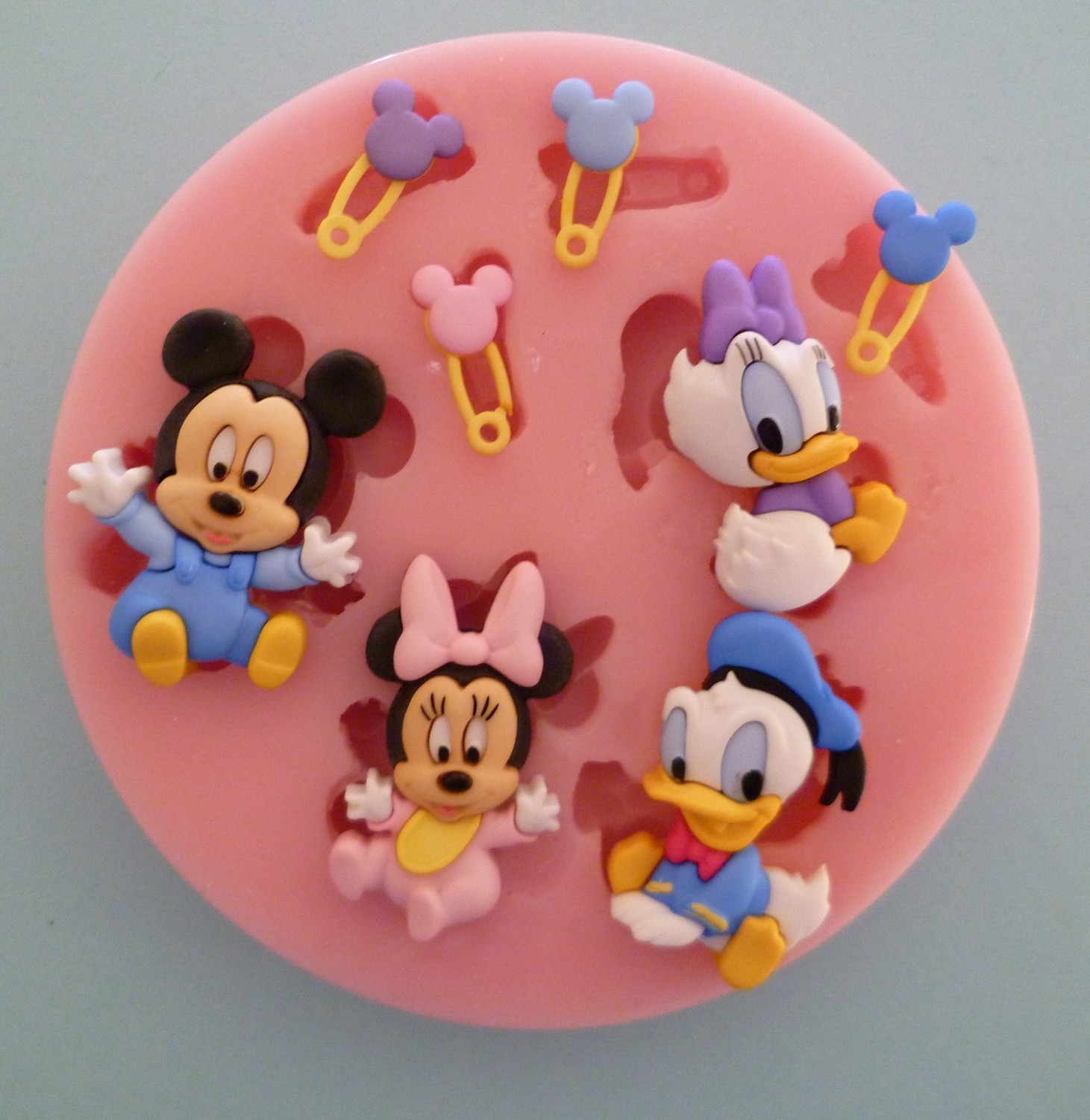 BABY DISNEY CHARACTERS SILICONE MOULD