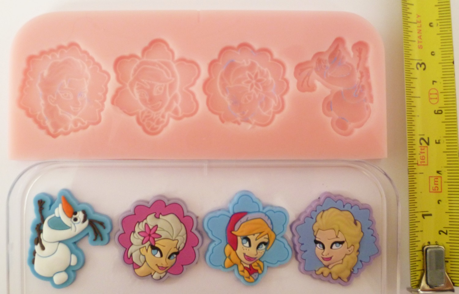 FROZEN PLAQUES 002 SILICONE MOULD