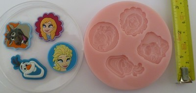 FROZEN PLAQUES 001 SILICONE MOULD