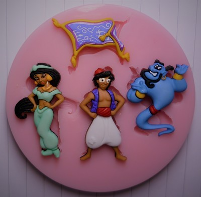 ALADDIN SILICONE MOULD