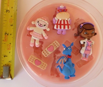 DOC MCSTUFFINS SILICONE MOULD