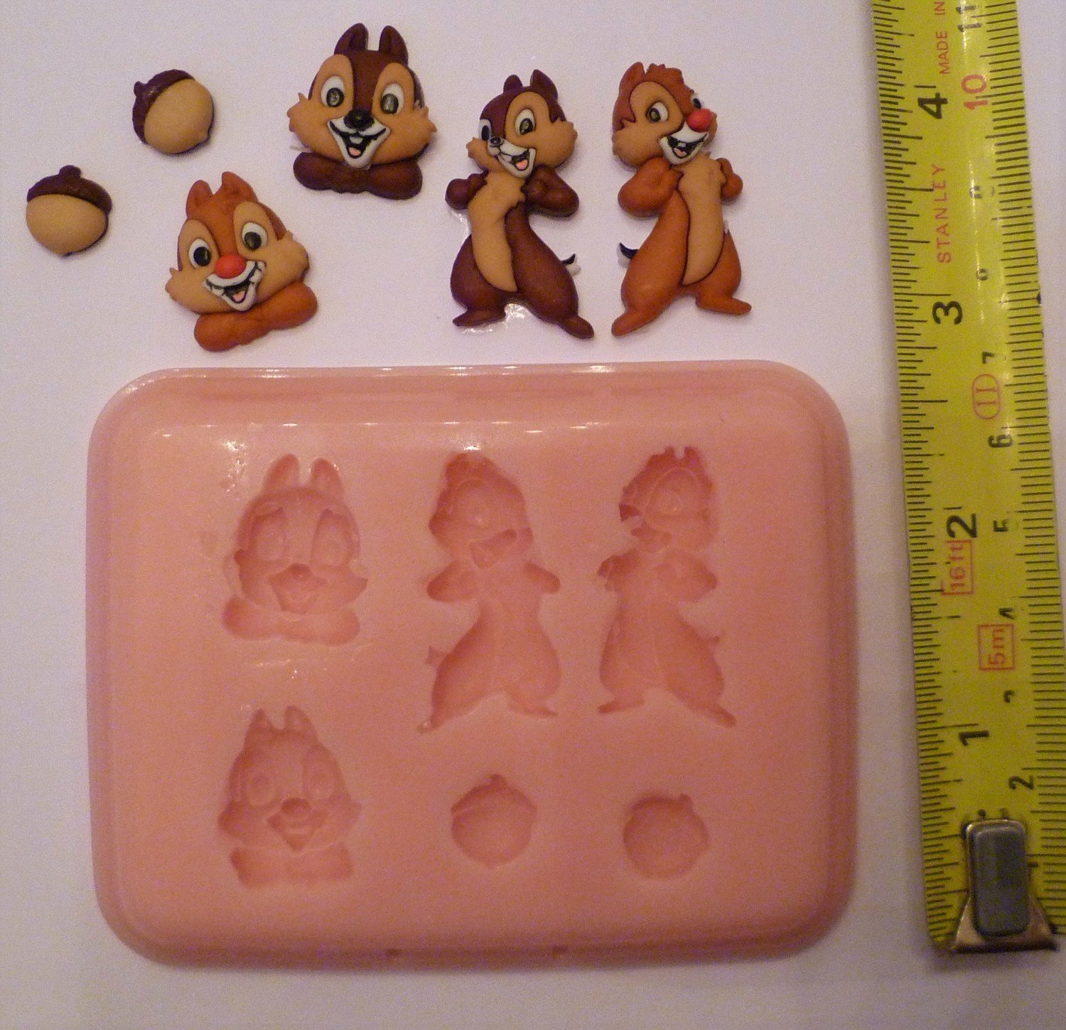 CHIPMUNKS 001 SILICONE MOULD
