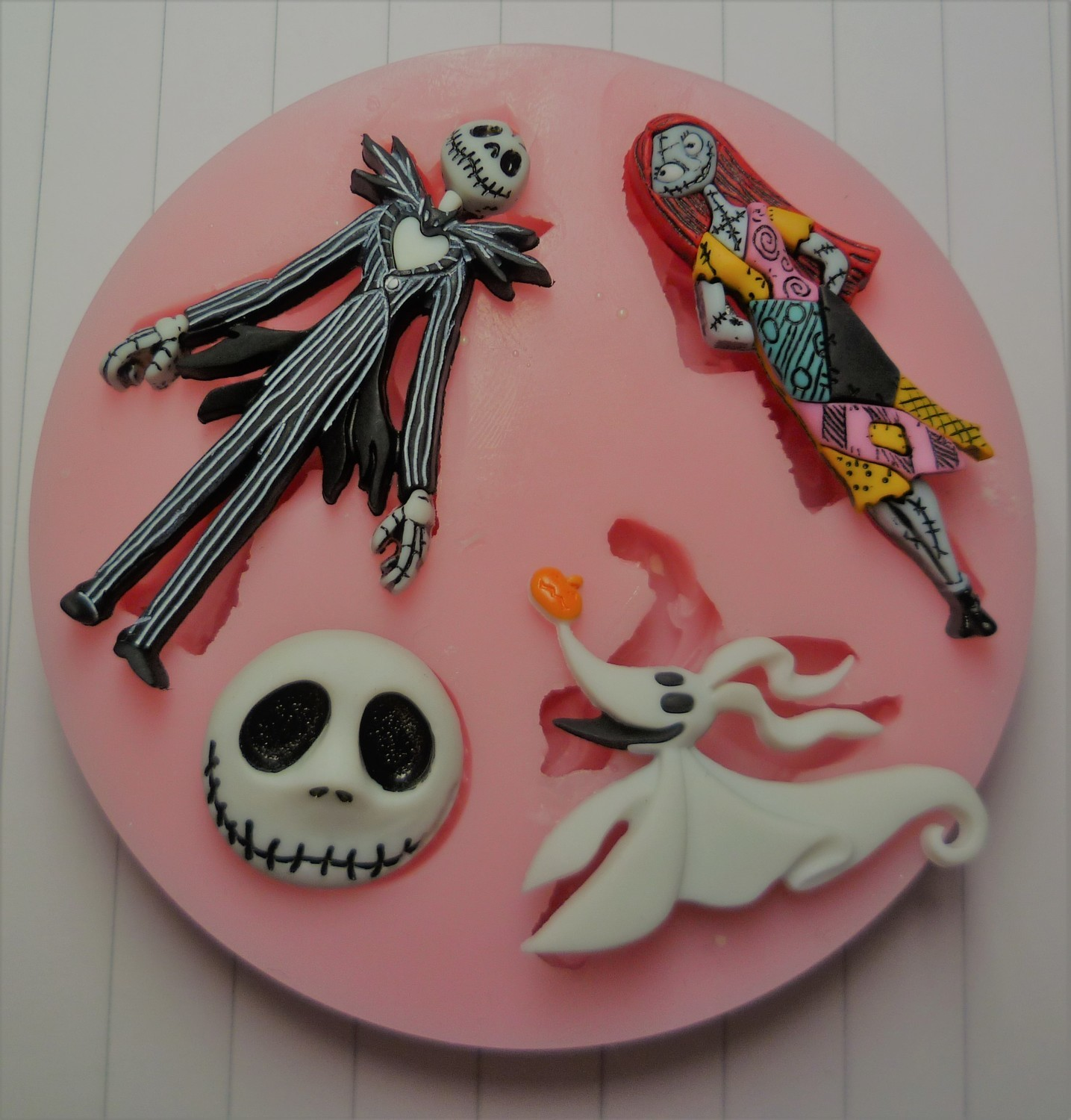 NIGHTMARE BEFORE CHRISTMAS SILICONE MOULD