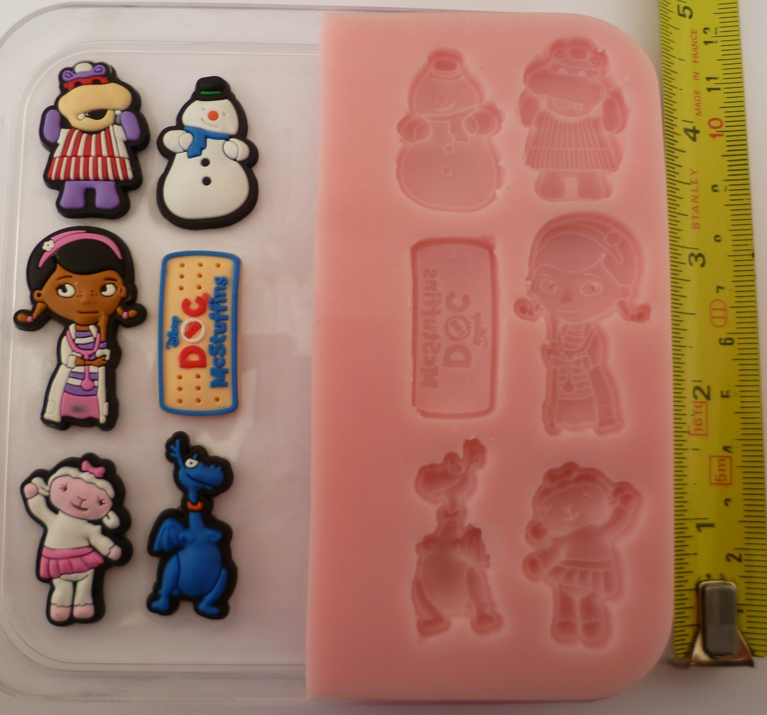 DOC MCSTUFFINS SET SILICONE MOULD