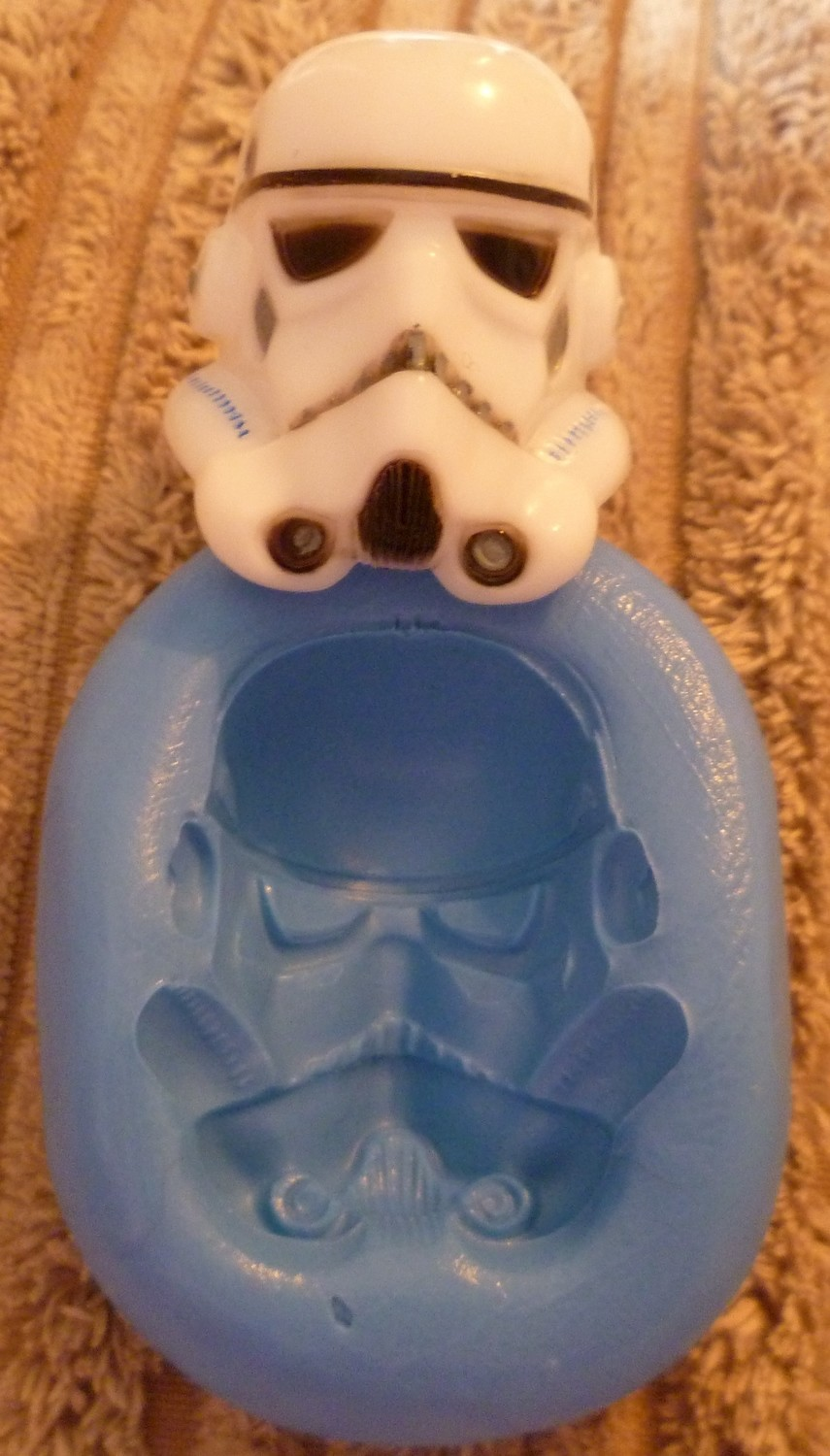 STORM TROOPER HEAD SILICONE MOULD