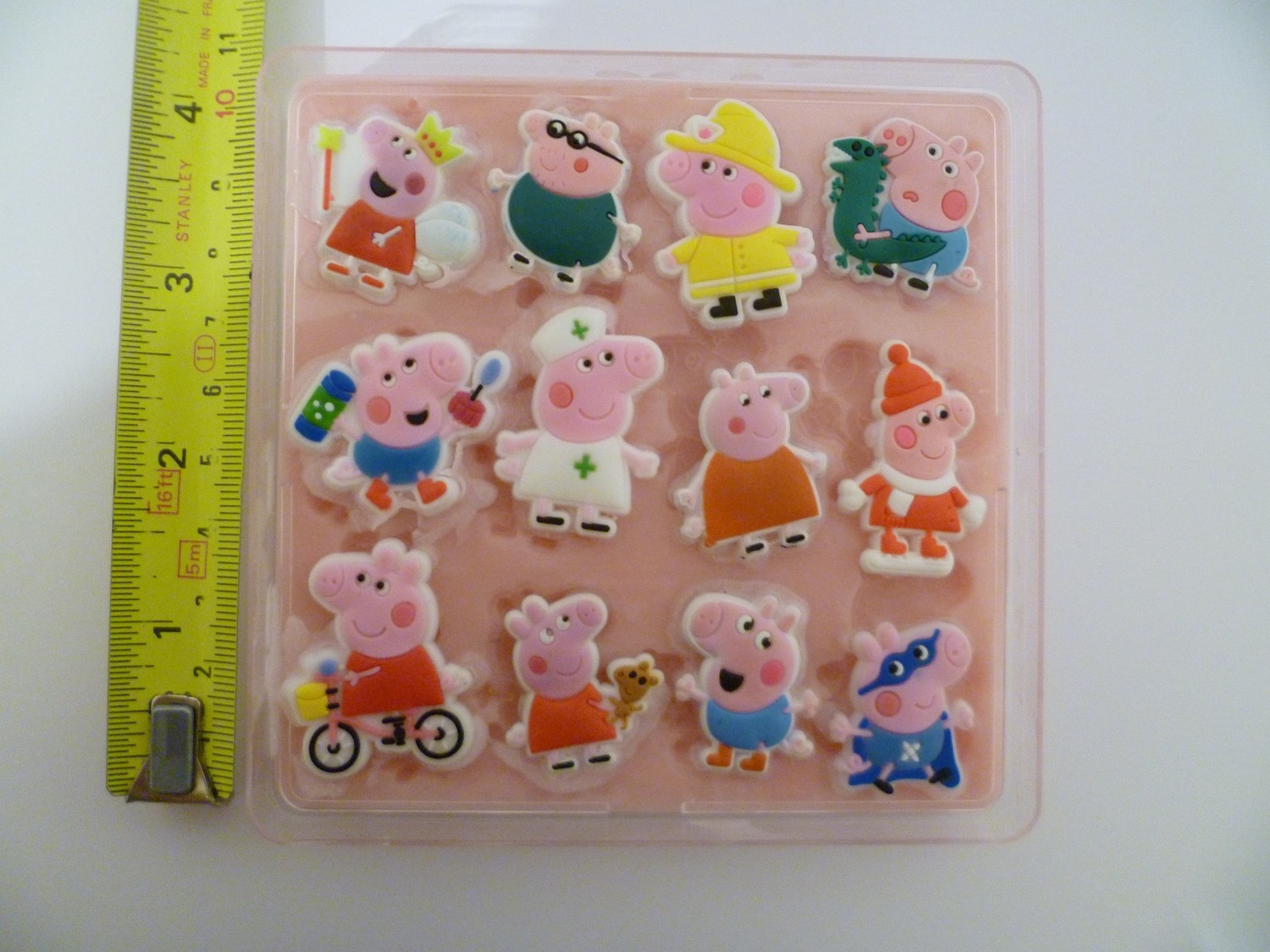 PEPPA PIG SET 001 SILICONE MOULD